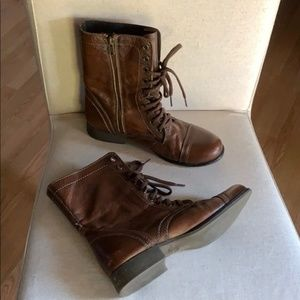 Steve Madden Troopa Leather Boot size 9.5M